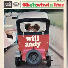 """45 T EP WILL ANDY """"OH, OH, WHAT A KISS"""""""
