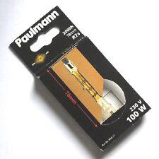 Halogenstab 100W Gold L = 78 mm von Paulmann 834.057 Spg. 230V Sockel Rx7s