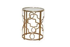 2958 Metalltisch Hofmann Beistelltisch Konsolentisch Tisch in Antik Gold Konsole