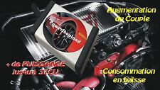 PEUGEOT 206 1.6 HDI 90 CV Chiptuning Chip Tuning Box - Boitier additionnel Puce
