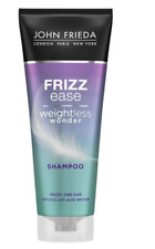 JOHN FRIEDA Frizz Ease Weightless Wonder Shampoo 250ml (BRAND NEW)
