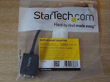 Startech A/V DisplayPort To VGA Video Adapter Converter DP2VGA2 Convert NEW