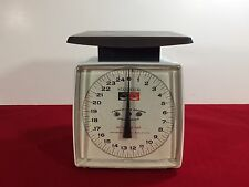 Vintage Hanson Model 40 Utility Kitchen Produce/Meat Scale 25 lb Capacity USA