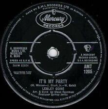 "NORTHERN SOUL - LESLEY GORE - IT'S MY PARTY - UK MERCURY -""HEAR"""