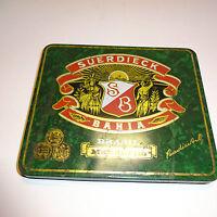 BARATTOLO LATTA LATTINA scatola in metallo suerdieck BAHIA