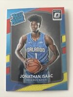 Jonathan Isaac 2017-18 Donruss Optic Rated Rookie Red & Yellow RC #195 PSA 10??