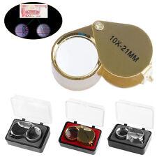 Mini Triplet Jeweler Eye Loupe Magnifier Magnifying Glass Jewelry Diamond Hot