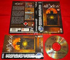 HEXEN Sega Saturn Versione Europea ○○○○○ COMPLETO