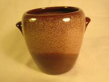 FRANKOMA Brown Satin PLAINSMAN 5DB 6 oz SUGAR BOWL Sapulpa Clay [Z177]