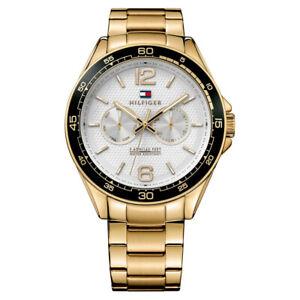 Tommy Hilfiger 1791365 Gold Men's Watch Decker