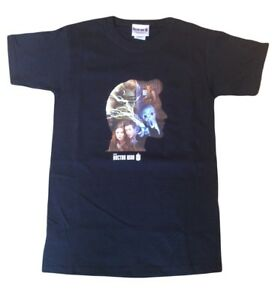11th Eleventh Doctor Who Matt Smith Official Silhouette Adults T Shirt - NEW