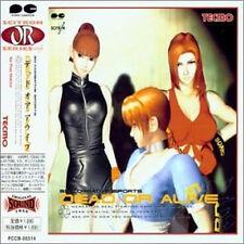 Dead or Alive Game Music Soundtrack Cd Japanese Dead Or Alive Ps