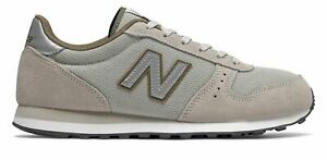 New Balance Men's 311 Classic Shoes Grey with Green