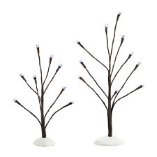 Department 56 White Light Bare Branch Trees 4038816 D56 2014 Village Accessory
