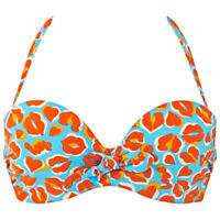 32B Chantelle Naiade Bikini Top Plunge Multiway 2462 Underwired Moulded