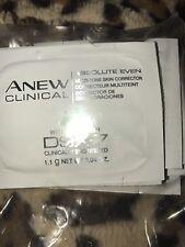 Avon Anew Absolute Even multi tone Skin Corrector DSX-7  .04 fl oz Samples (2)