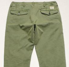 "Double rl rrl Logo ""oficial"" cuadro's Straight Chino de Superdry Pantalones Pantalones verde W36/32"