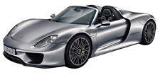 1:24 Scale Porsche 918 Spyder Diecast Car Model Die Cast Cars Models Miniature