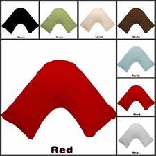 21 Multi Color V Shape / Tri / Boomerang Pillowcase 280TC Poly Cotton Free Post