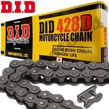 DID 428D Kette 130 Rollen schwarz Clipschloss Rollenkette Motorrad Antrieb