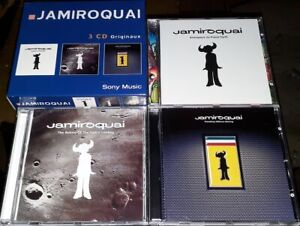JAMIROQUAI RARE COFFRET 3 CD ORIGINAUX SONY MUSIC