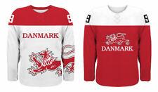 NEW 2020 Team Denmark Danmark Hockey Jersey NHL Nielsen Boedker Hardt IIHF