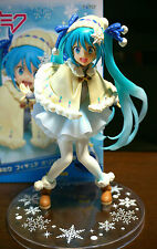NEW Hatsune Miku Figure Original Winter Costume clothes snow Anime TAITO Japan