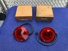 (2) NOS 1965-72 CHEVY STEPSIDE PICKUP TRUCK TAIL LIGHTS LAMPS GM 916599 OEM RARE