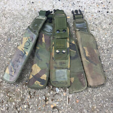 BRITISH ARMY SURPLUS ISSUE PLCE IRR G2 WOODLAND DPM FROG,SCABBARD,SHEATH,UK