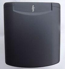 Mains 240v inlet BLACK MAGNETIC FLAP MOTORHOME RV CAMPER IP44 HOOKUP ABL SERSUM
