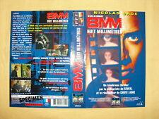 NICOLAS CAGE 8MM Huit Millimètres  Jaquette VHS