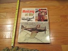 Mustang at War Airplane Aircraft World war 2 WW2 HC Book