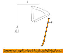 Chevrolet GM OEM 11-15 Cruze Exterior-Stone Deflector Guard Left 22907771