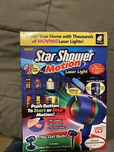 BulbHead Star Shower Weather Laser Light Projector (10640-6)