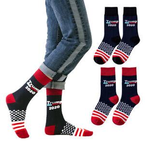 Women Men Socks 2021 Donald Trump President Make America Great Stockings Warm