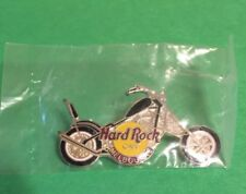 Hard Rock Cafe 1999 Melbourne Black Gas Tank Chopper Motorcycle Pin NEW IN BAG