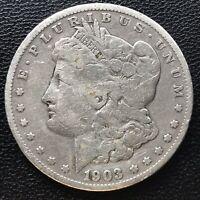 USA 1903 S Morgan Dollar Silber San Francisco Selten #16917