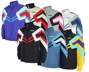 Diadora Men's MVB Wind Full Zip Track Jacket, Color Options