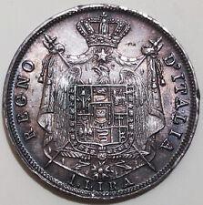 #NS - 1 Lira 1810 M (Napoleone Imperatore e Re) / ITALY COIN