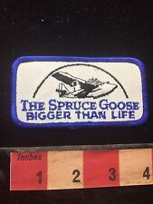 California Airplane Patch THE SPRUCE GOOSE Bigger Than Life 74B4