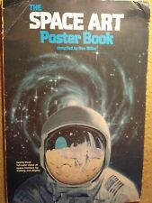 Vintage 1979 The Space Art poster book by Ron Miller - stellar images Stackpole