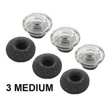 6Pcs Ear bud Gel Earbuds Eargels tips For Plantronics Voyager Legend, UC -Medium