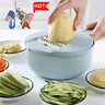 9 In 1 Kitchen Mandoline Slicer Veggie Cutter Grater Chopper Julienne Slicer US