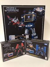 MASTERPIECE Transformers Takara SOUNDWAVE Frenzy Rumble Buzzsaw Ravage Laserbeak