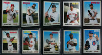 2019 Topps Heritage French Text OPC Variation SSP Baseball Cards Pick From List