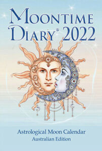 2022 Astrological Moon Time Diary & Planting Guide x 1 Southern Hemisphere