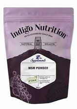 MSM Crystal Powder - 500g - (Quality Assured) Indigo Herbs