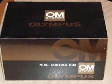 OLYMPUS OM M AC CONTROL BOX 120V & 220V FOR MOTOR DRIVE 1/2 NEW IN BOX
