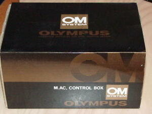 OLYMPUS OM M AC CONTROL BOX FOR MOTOR DRIVE 1/2 NEW IN BOX
