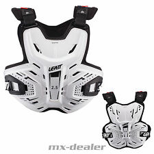 Leatt Brustpanzer Panzer Chest Protector 2.5 weiss für Leatt Brace BNS Enduro